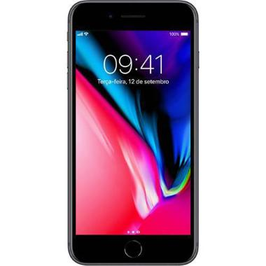 Iphone 8 Plus 64gb Câmera 12mp Cinza Espacial Tela 5,5 Mq8l2bz/a