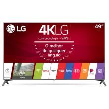 "Smart TV 4K LG LED 49"" Controle Smart Magic Nano Cell™ Display WebOS 3.5 49UJ7500"
