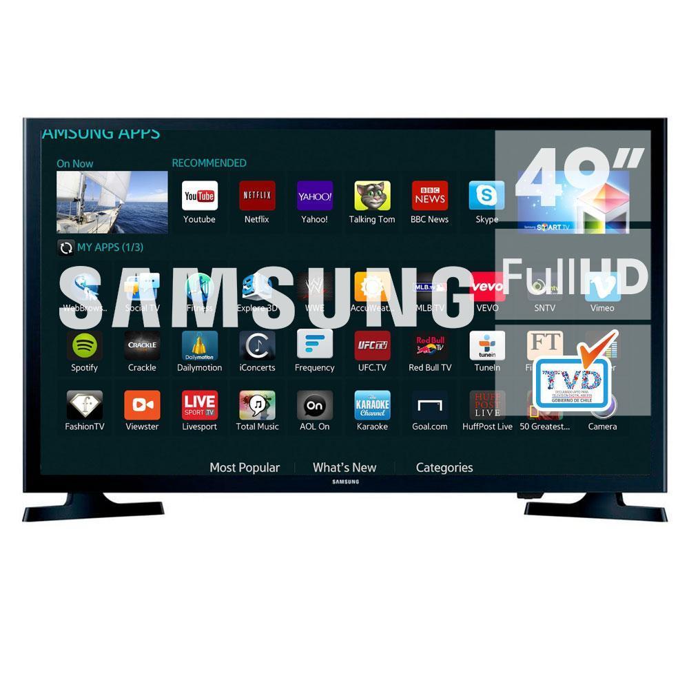 Promoo de tv led smart tv 4k e mais angeloni smart tv led 49 samsung full hd wi fi usb hdmi un49j5200 fandeluxe Image collections