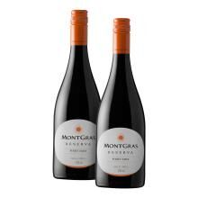 montgras reserva pinot noir 2016 compre e leve em dobro