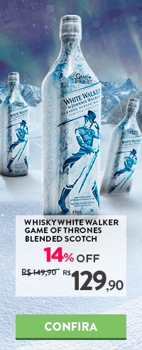 Whisky Johnnie Walker White Walker Edição Limitada Game of Thrones