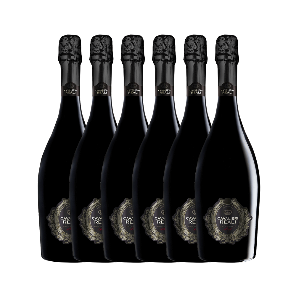 Kit Espumante Cavalieri Brut com 6 garrafas
