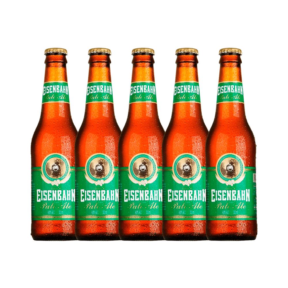 Cerveja Eisenbahn Pale Ale com 5 Garrafas