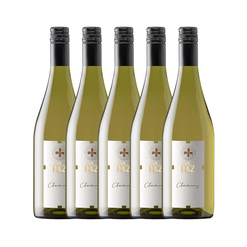 MontGras La Paz Chardonnay com 5 Garrafas